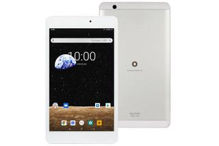 「BNT-802W」BLUEDOTの8.0型Android搭載低価格タブレット、同サイズの他モデルとスペック比較
