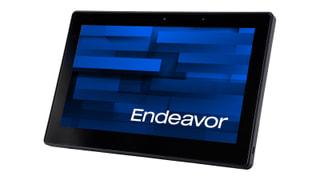 「Endeavor TN40」エプソンのWin10搭載11.6型タブレット、専用ドックやバッテリレスも選択可能