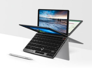 「CHUWI MiniBook」Win10搭載8.0型回転式2-in-1の出荷開始、OneMixシリーズと比較