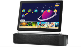「Lenovo Smart Tab P10」LenovoがAlexa対応の10.1型Andoridタブレットを追加、Smart Dock付属