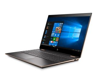「HP Spectre x360 15-df0000」HPのWin10搭載15.6型回転式2-in-1、新デザインで性能強化