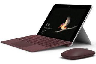 「Surface Go」日本マイクロソフトがWin10搭載10型着脱式2-in-1にLTEモデル追加、Surfaceシリーズ比較