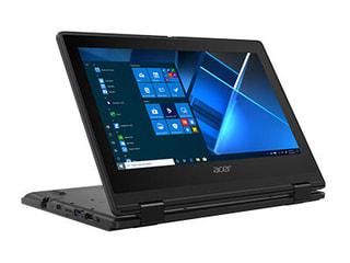 「TravelMate Spin B3」AcerのWin10 Pro E搭載11.6型回転式2in1、補助金で導入できる価格