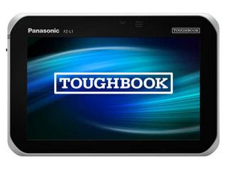 「TOUGHPAD FZ-L1」パナソニックのAndroid搭載7.0型頑丈タブレット、バーコードリーダ搭載も用意