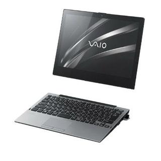 「VAIO A12」VAIOのWin10搭載12.5型着脱式2-in-1、絵本にヒントを得た新機構「Stabilizer Flap」搭載