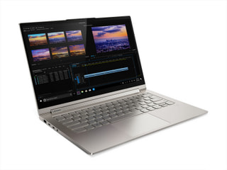 「Yoga C940」LenovoのWin10搭載の14.0型回転式2-in-1、サウンドバーヒンジ装備で長時間駆動