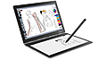 「Yoga Book C930」LenovoのWin10搭載の10.8型回転式2-in-1、IPS液晶とE-Inkのデュアルディスプレイ