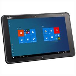 「ARROWS Tab Q5010/C」富士通のWin10搭載10.1型タブレット、文教向けには新デザインを採用
