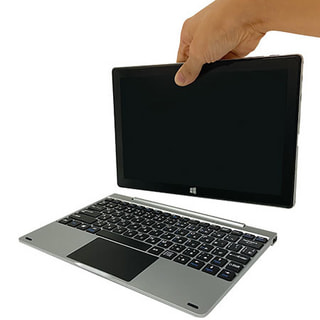 「ジブン専用PC&タブレット U1C」ドン・キホーテのWin搭載10.1型着脱式2in1、低価格モデルと比較