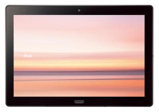 「dtab d-41A」NTTドコモの10.1型Android搭載タブレット、ソフトバンクとauの現行モデルと比較