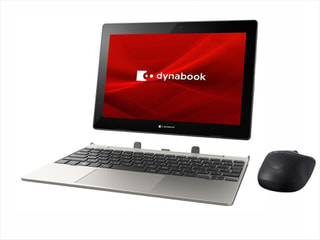 「dynabook K1」DynabookのWin10 Pro搭載10.1型着脱式2in1、教育現場の声を反映して設計