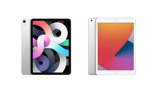 A14 Bionicチップ搭載の第4世代10.9型「iPad Air」とA12 Bionicチップ搭載の第8世代10.2型「iPad」発表