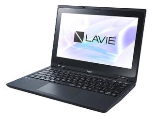 「LAVIE Direct N11」NECのWin10搭載11.6型回転式2in1、小中学生向けの堅牢性と学習コンテンツ充実