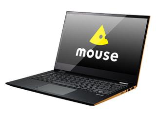 「mouse U4」マウスのWin10搭載14.0型回転式2in1、ファンレス機構採用で薄型の長時間駆動