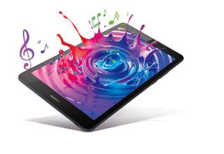 「MediaPad M5 lite 8」ファーウェイの8型Androidタブレット、音と映像を楽しめるコンパクトサイズ