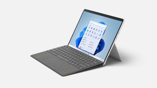 マイクロソフトのSurface新モデル、Win11搭載の13.0型「Surface Pro 8」と10.5型「Surface Go 3」