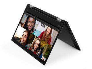 「ThinkPad X13 Yoga Gen 1」LenovoのWin10搭載13.3型回転式(2020年)、CPU強化でコンパクト